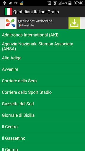 Free Italian Newspapers