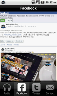 WTUW- screenshot thumbnail