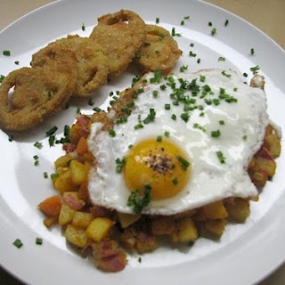 Pumpkin, Pancetta and Potato Hash