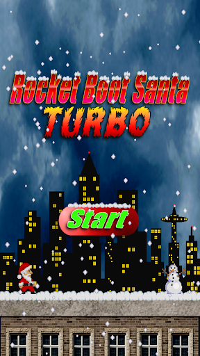 Rocket Boot Santa Turbo