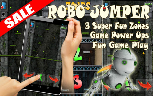 Robo Jumper Robot Jumping Game