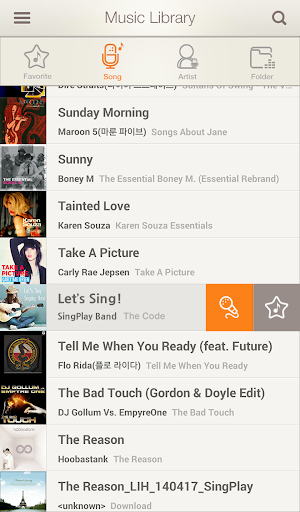 SingPlay: MP3卡拉OK錄音機