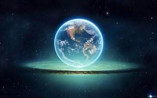 Screenshot of 3D Earth