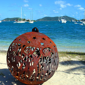Full Moon ball by Terry Niec - Artistic Objects Other Objects ( ball, bvi, full moon, party,  )