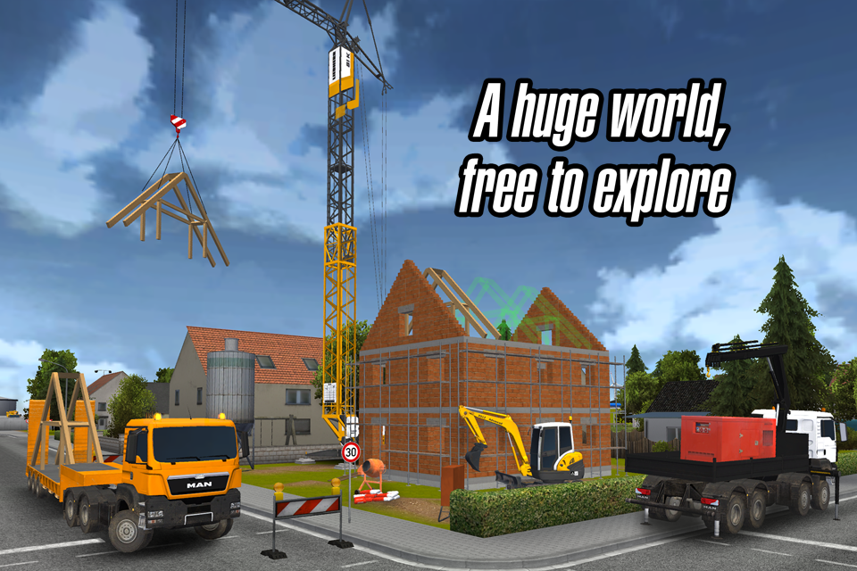 Construction Simulator 2014- screenshot