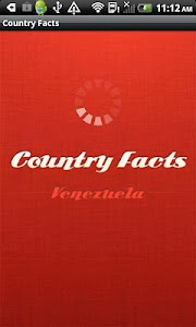 Country Facts Venezuela screenshot 1