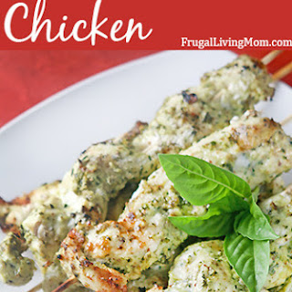 Pesto Grilled Chicken