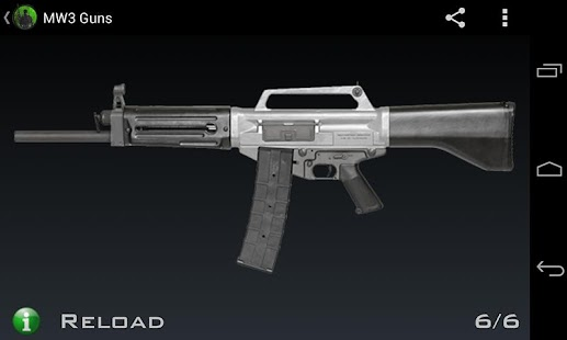 MW3 Guns - screenshot thumbnail