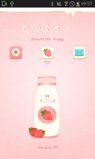 Milk go locker theme