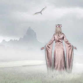 Misty  by Joan Blease - Digital Art People