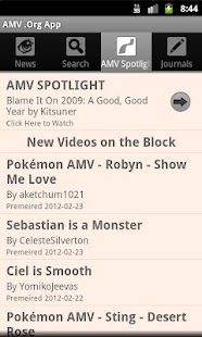 AMV .Org App - screenshot thumbnail