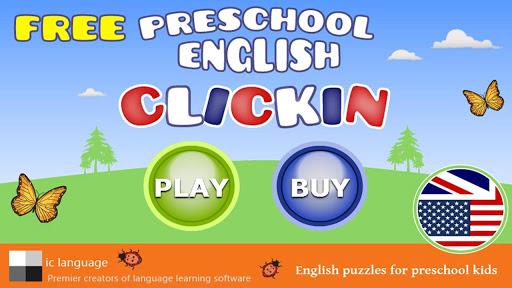 Preschool English ClickIn Free