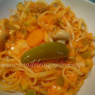 Pasta with Vegetables.