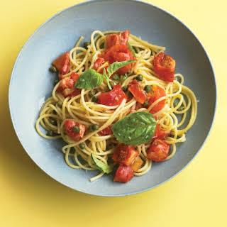 Pasta with Roasted Tomato Sauce.