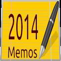 Calendar Memos 2014