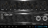 poweramp skin black snake- screenshot thumbnail
