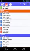 Screenshot of To-Do Calendar Planner