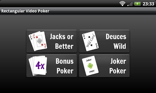 Rectangular Video Poker - screenshot thumbnail