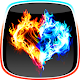 Fire and Ice Live Wallpaper Apk