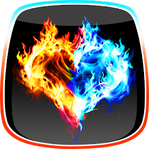 Fire and Ice Live Wallpaper