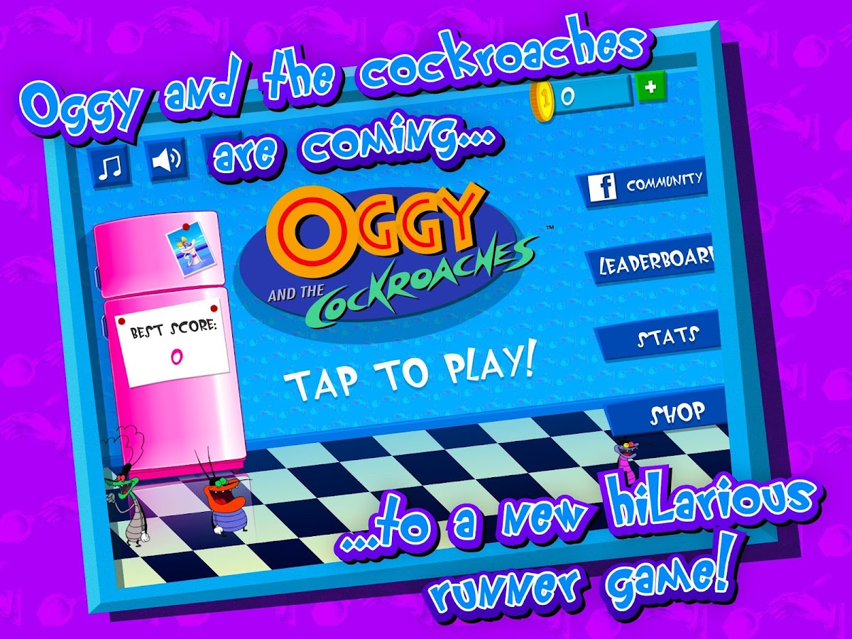 Oggy- screenshot