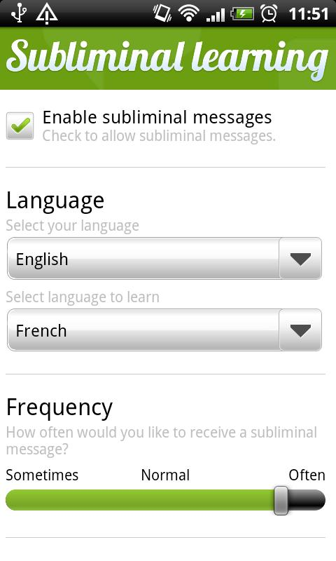 Subliminal Learning - screenshot