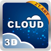 Cloud 3D Theme GO Launcher EX