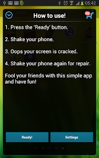 Cracked Screen Prank- screenshot thumbnail