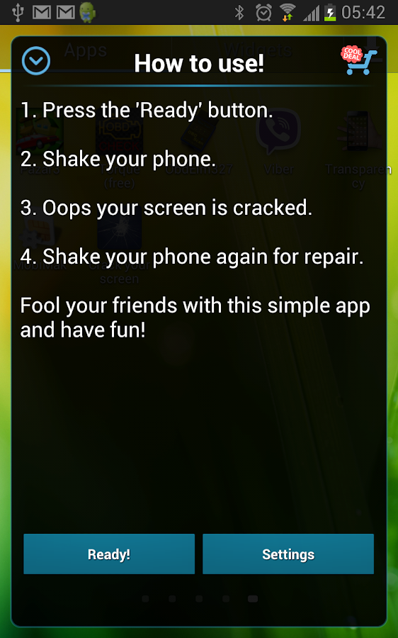 Crack Your Screen - screenshot
