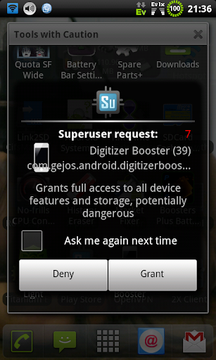 Digitizer Booster root