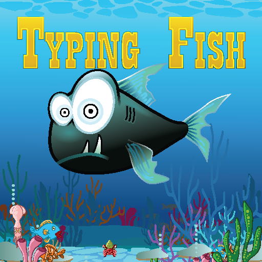 Typing Fish LOGO-APP點子