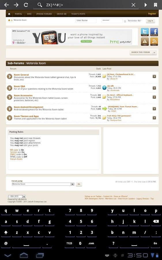 Open Split Keyboard- screenshot
