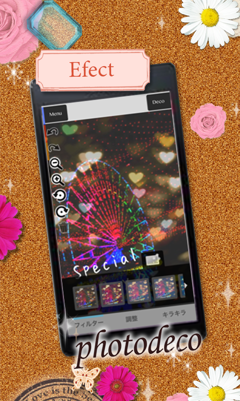 Let's decorate on your photo♪- screenshot