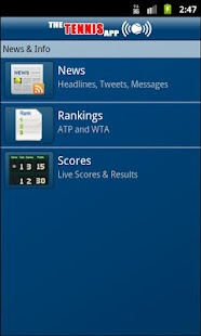 The Tennis App - screenshot thumbnail