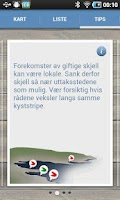 Screenshot of Blåskjell
