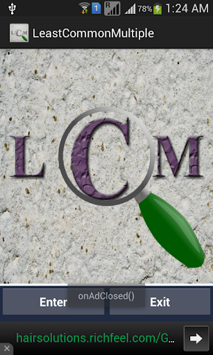 LCM LCD Finder of Numbers