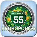 55 Hydroponics logo