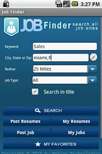 JobFinder - screenshot thumbnail
