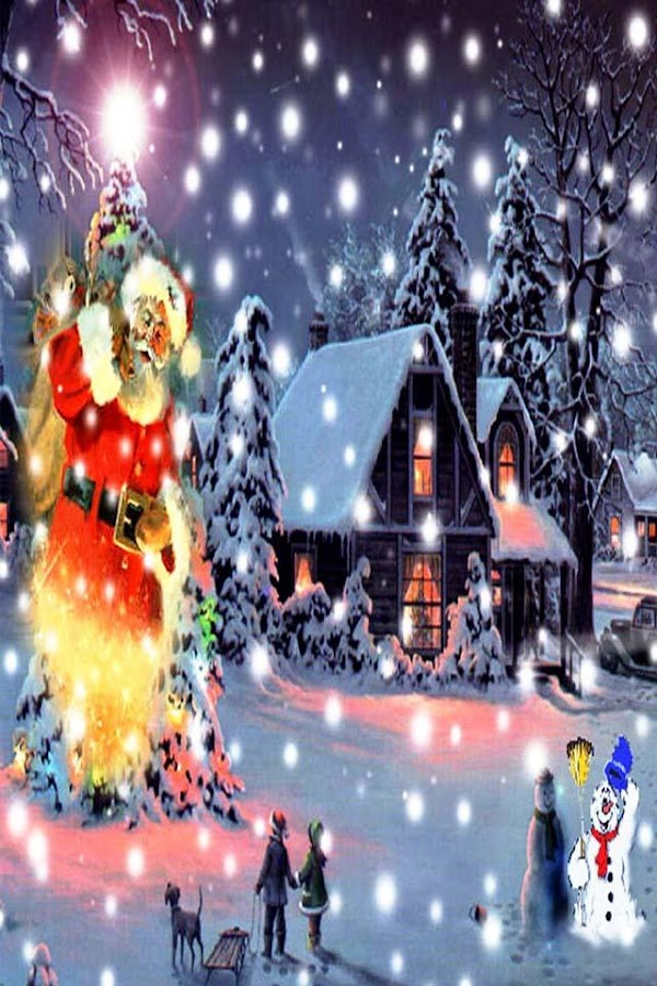 Christmas 3D HD Live Wallpaper - screenshot