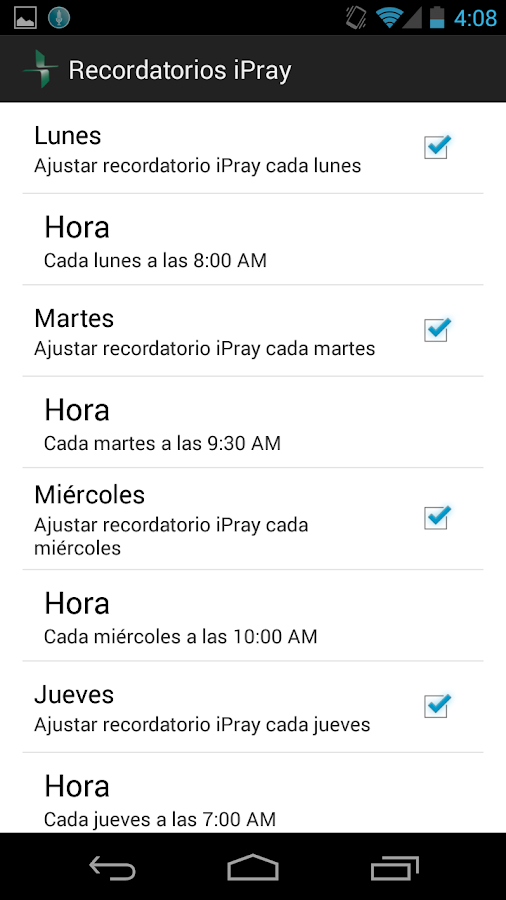 iPray en Español- screenshot