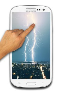 Lightning Thunder Touch Screen