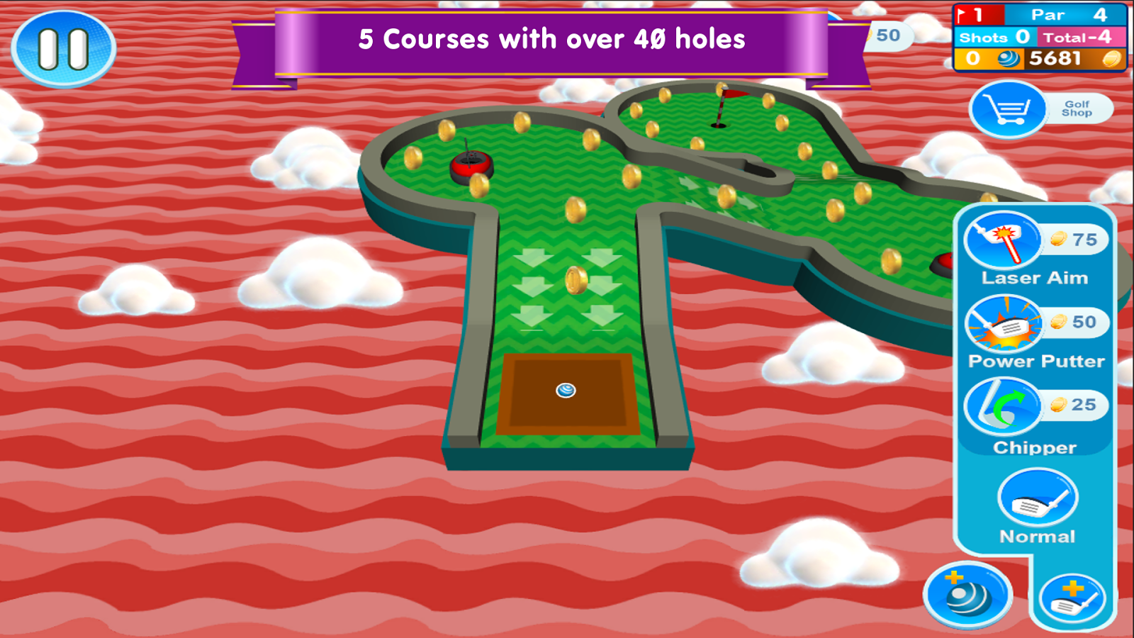 Ultimate Mini Golf 2- screenshot