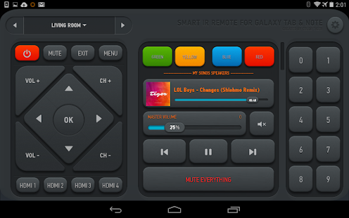 Smart IR Remote - AnyMote - screenshot thumbnail