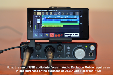 Audio Evolution Mobile Studio TRIAL - náhled