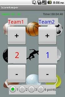 Score Keeper Free screenshot