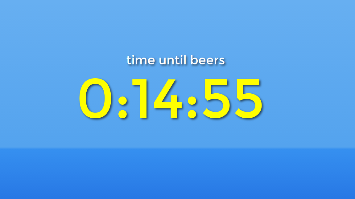Countdown Timer for Chromecast- screenshot