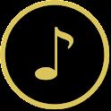 Premium audio player icon