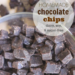 Homemade Chocolate Chips | Carob Chips.