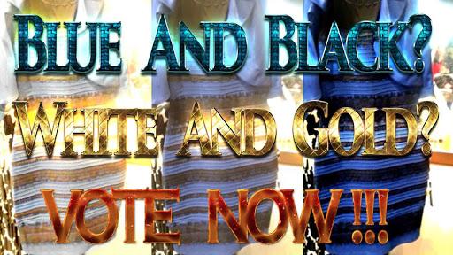 White Gold or Blue Black Dress
