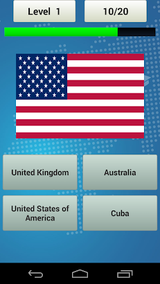 Flags Quiz screenshot